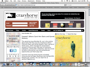 creative writing magazines online