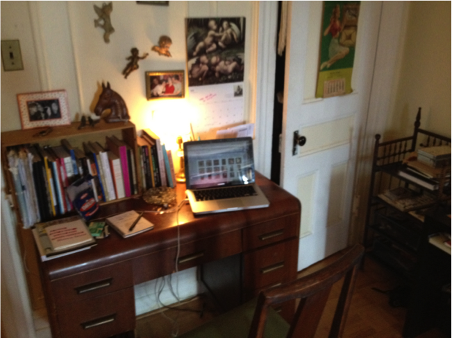 Bianca Stone's writing desk