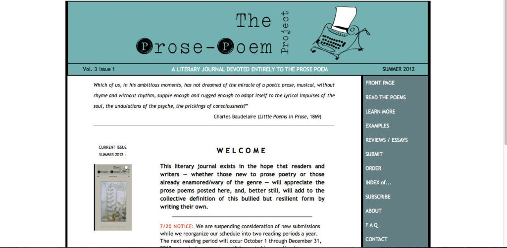 the prose poe